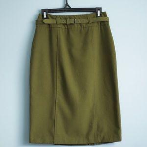Green Pencil Skirt 🌲